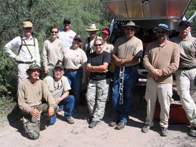 Cochise County Search and Rescue Volunteer Saves Child