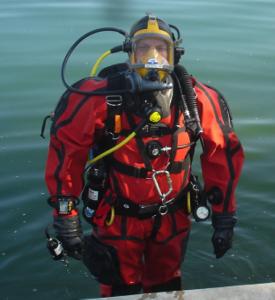 contaminated dive