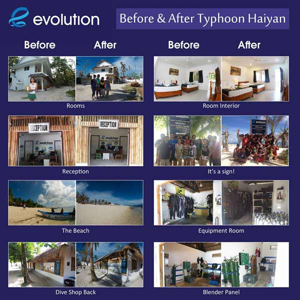 Philippines - Haiyan Before and After