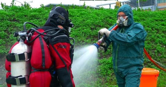 Taiwan Fire Agency Training