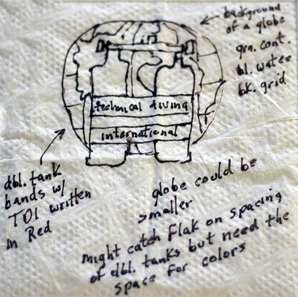TDI Napkin Logo