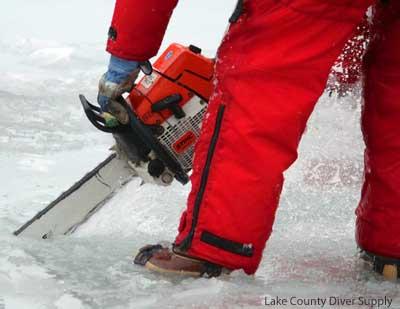 Ice Hole Chain saw