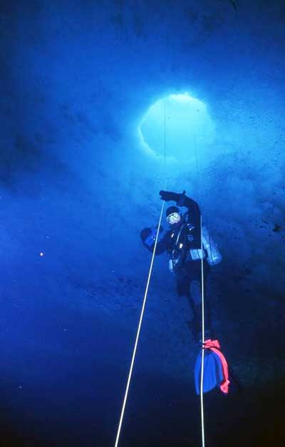 Diver in Deco