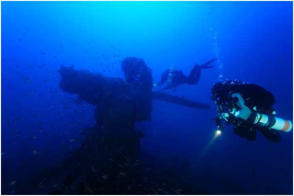 Sardinian wreck 1