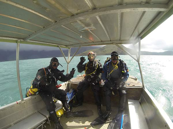 3 New Zealand Divers