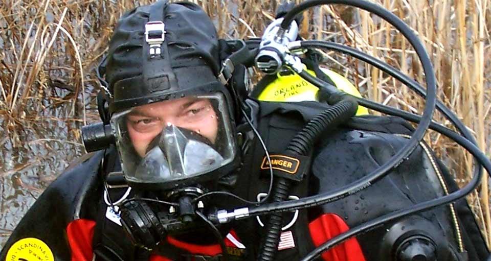 Full Facemask ERDI Diver