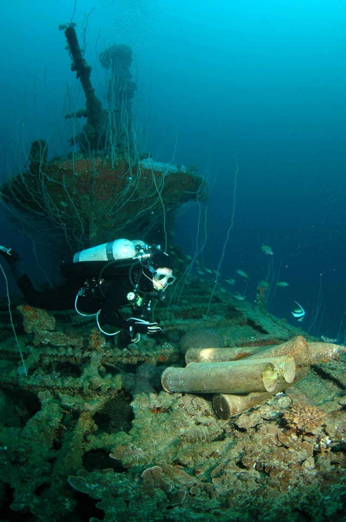 advanced wreck diver