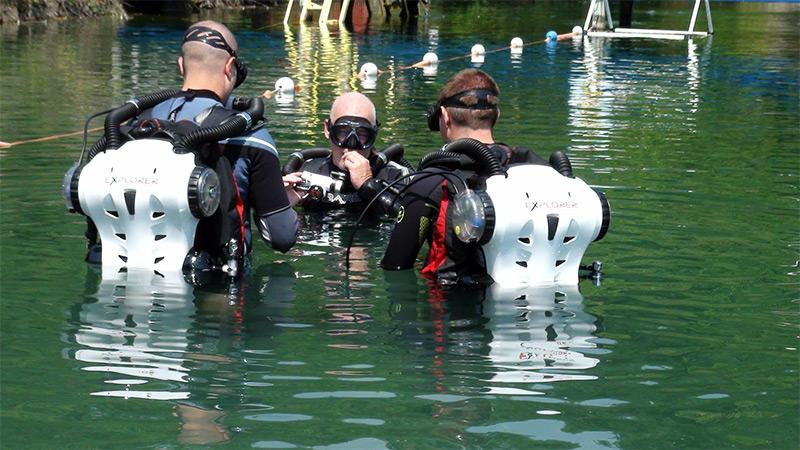 TDI CCR Diver