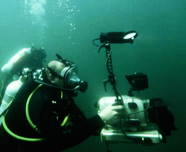 sdi underwater videographer