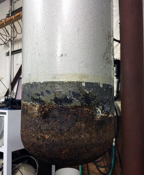steel cylinder