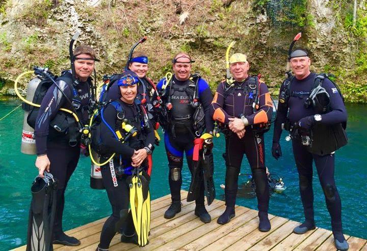 scuba instructors