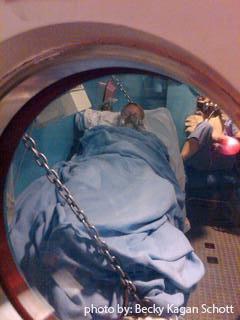 hyberbaric chamber