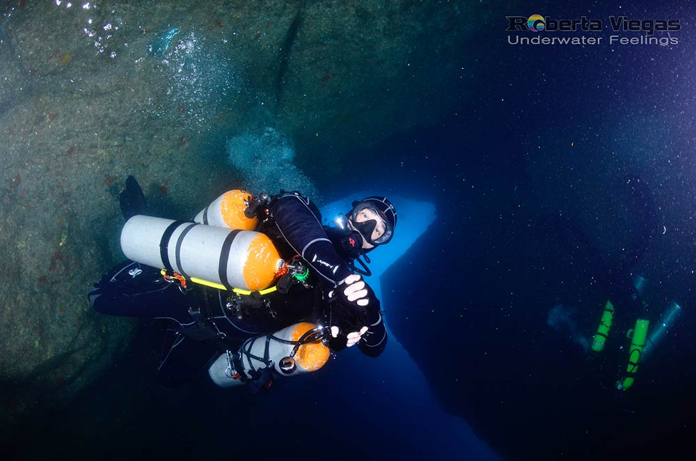 cave diver