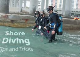 shore-diving