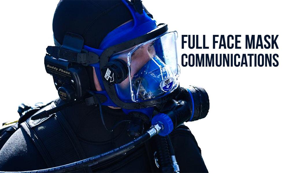 full face mask comms