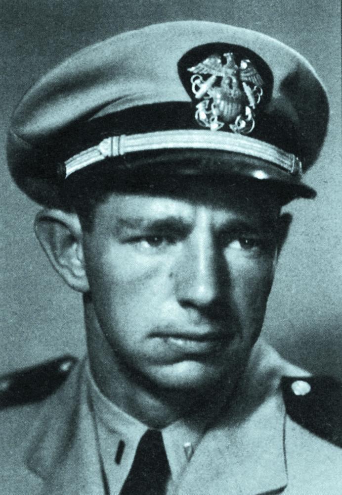 Lt. Bonin, circa 1955