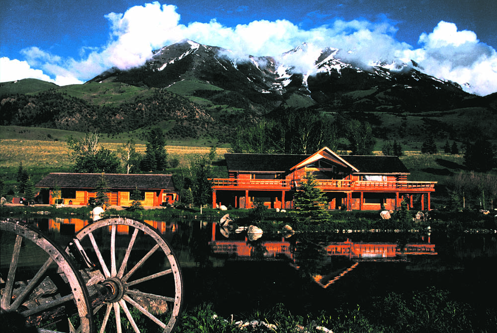 Giddings' production studio in Montana