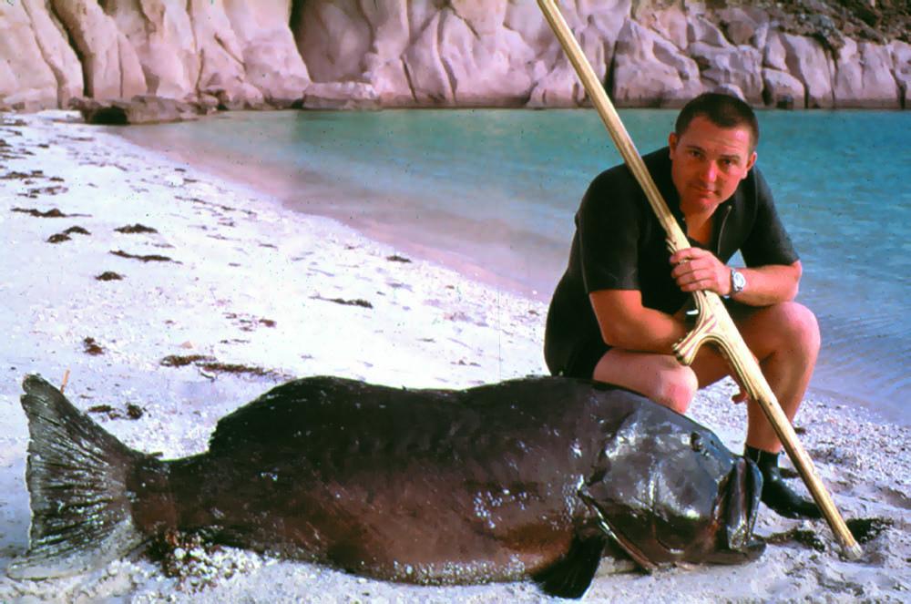 Spear Fishing in 1959