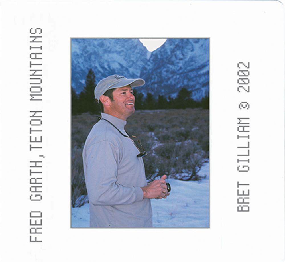 """Bret Gilliam """" Fred Garth, Teton Mountains"""""""