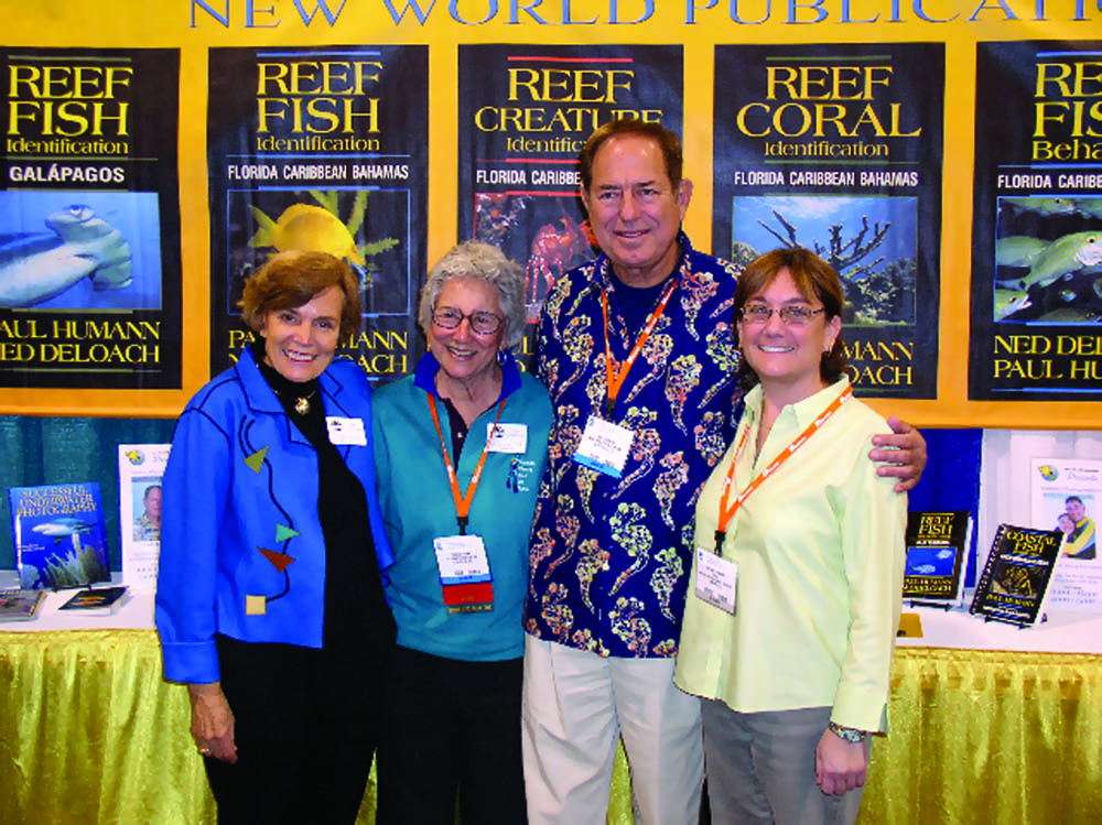 Sylvia Earle, Eugine Clark, Humann and Deborah Danner, 2005