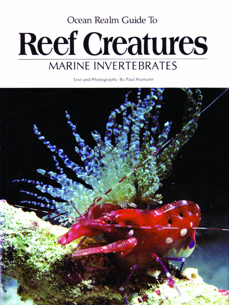 Reef Creatures was Humanns's first marine life ID book