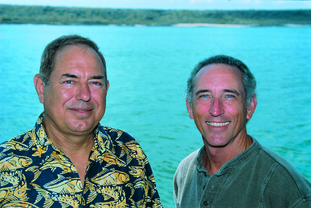 Paul and publishing partner Ned Deloach