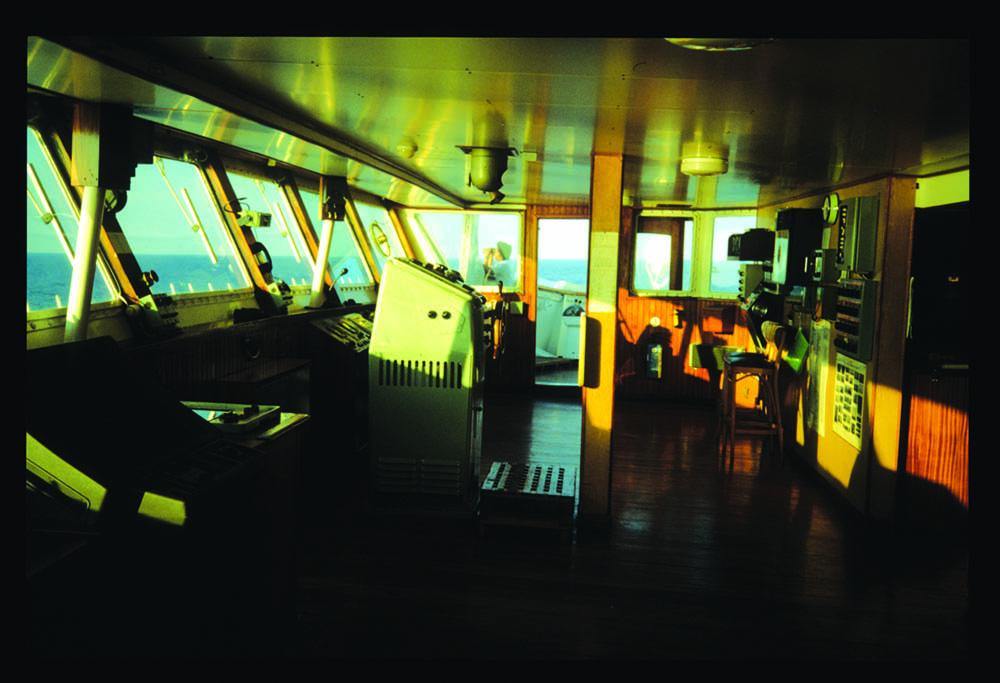 Ocean Spirit navigational bridge