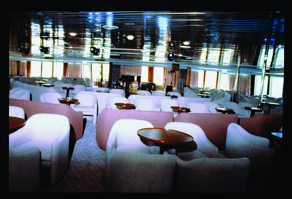 Main entertainment lounge