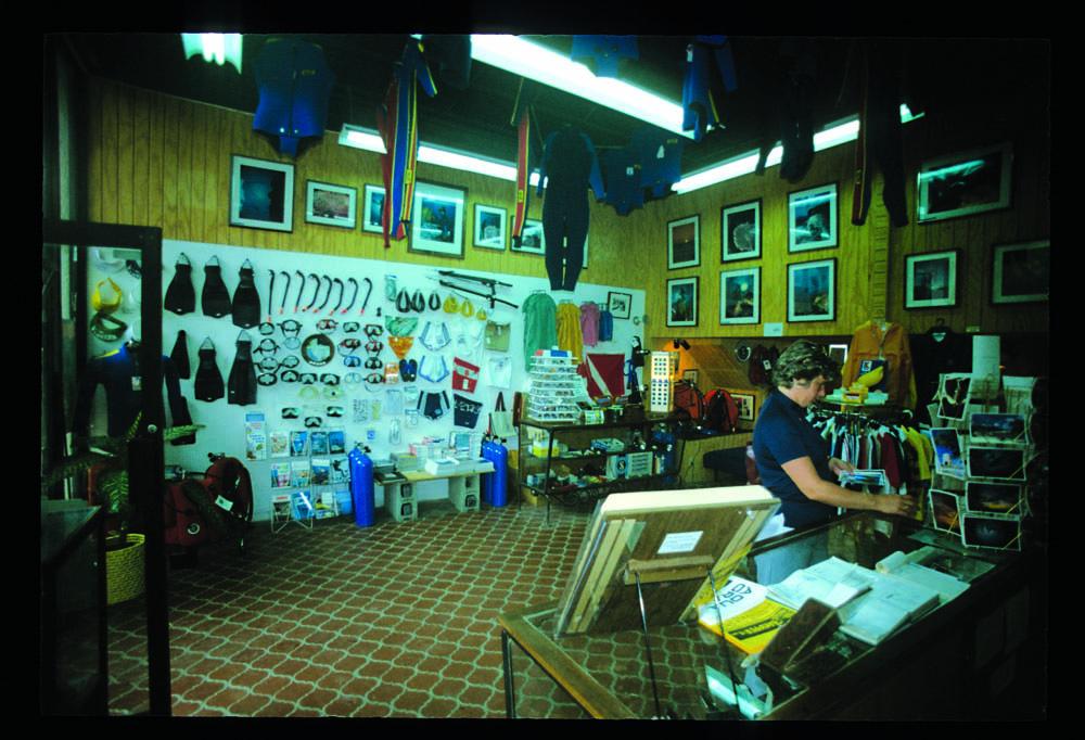 V.I. Divers LTD retail facility, St. Croix, Virgin Islands, 1977