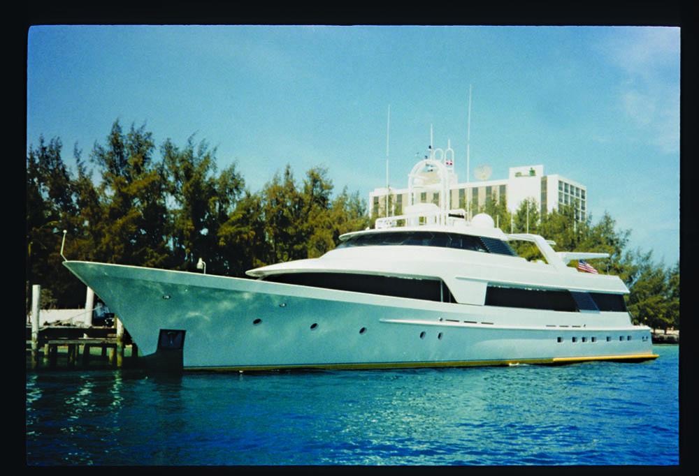 130-ft. Westport motor yacht