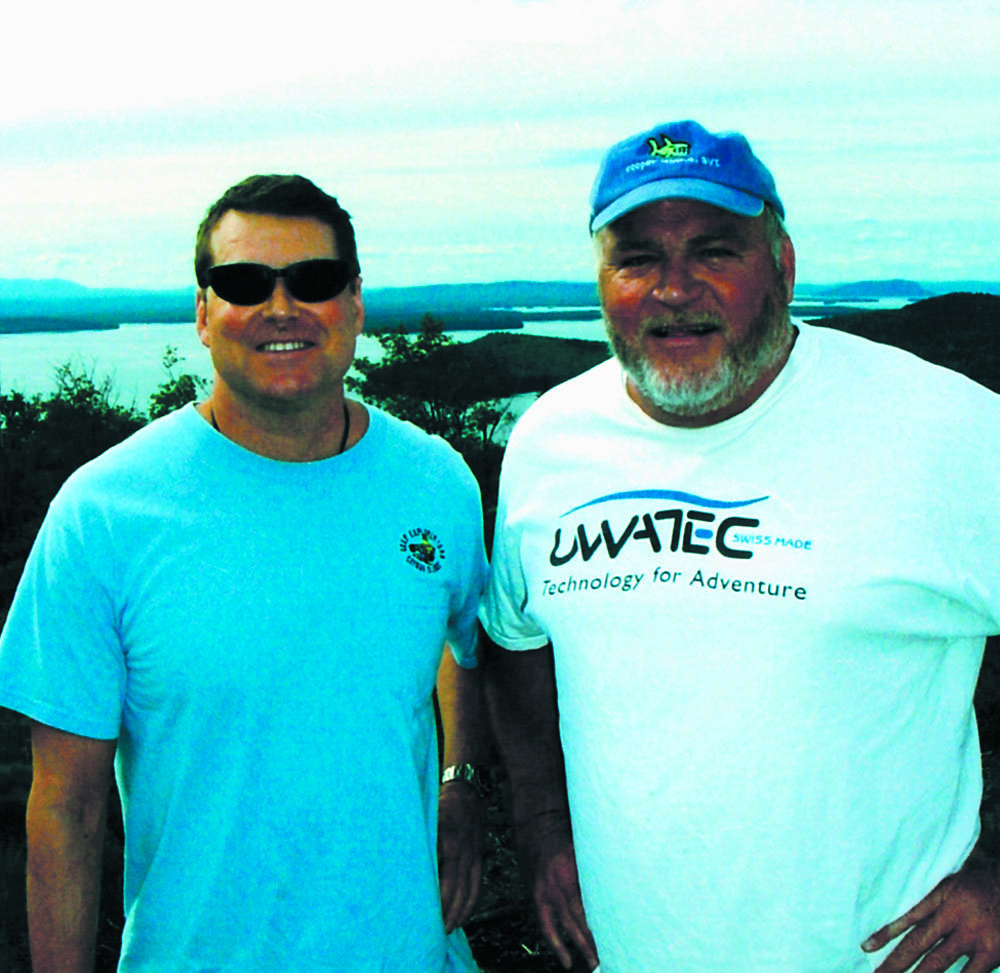 Turbeville and Gilliam in Maine, 2004