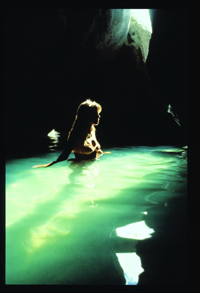 On the set of Pleasure Island, 1971