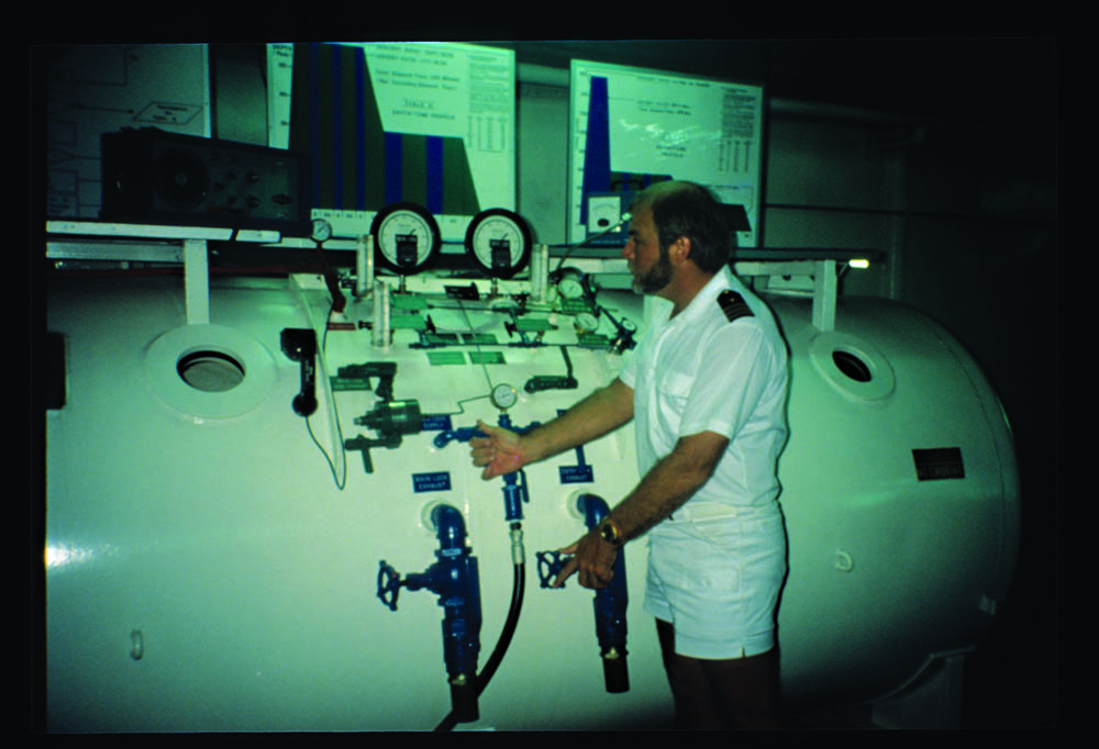 Gilliam operating recompression chamber