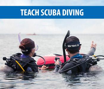 Teach Scuba Divers