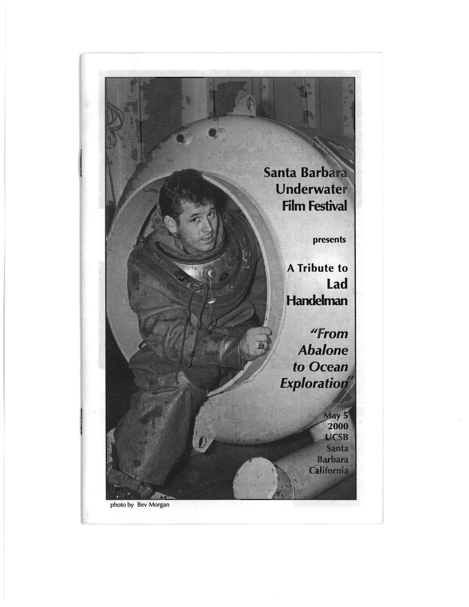Lad Handelman UCSB Program Cover