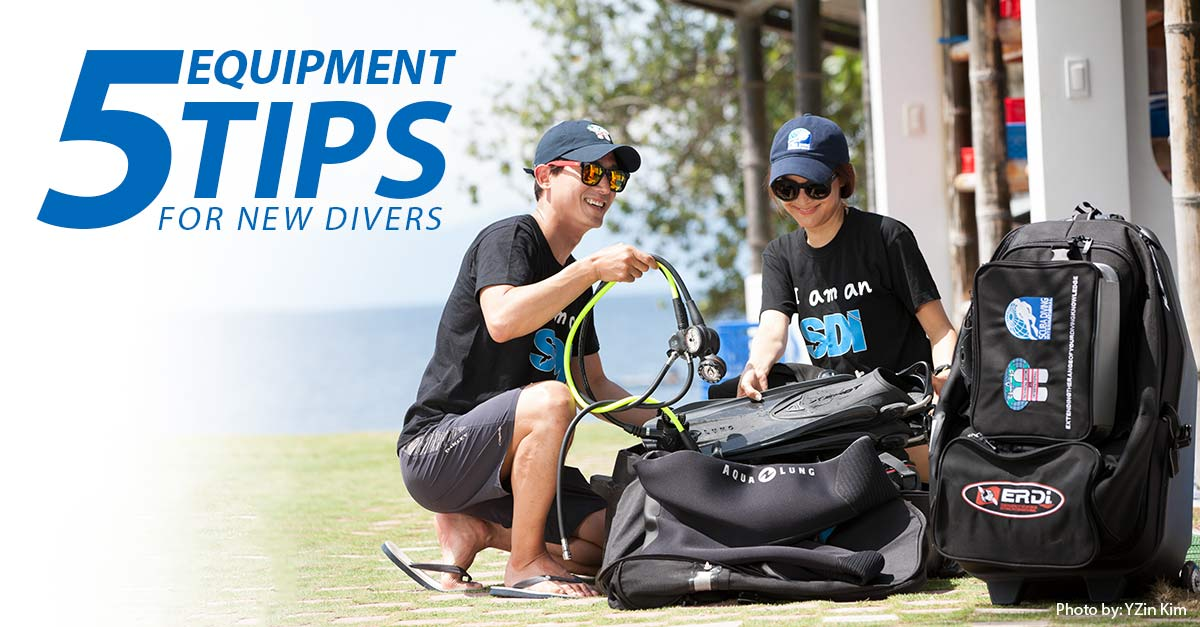 5-Tips-for-New-Divers-on-Equipment