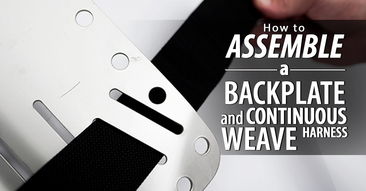 How to Assemble a backplate Harness