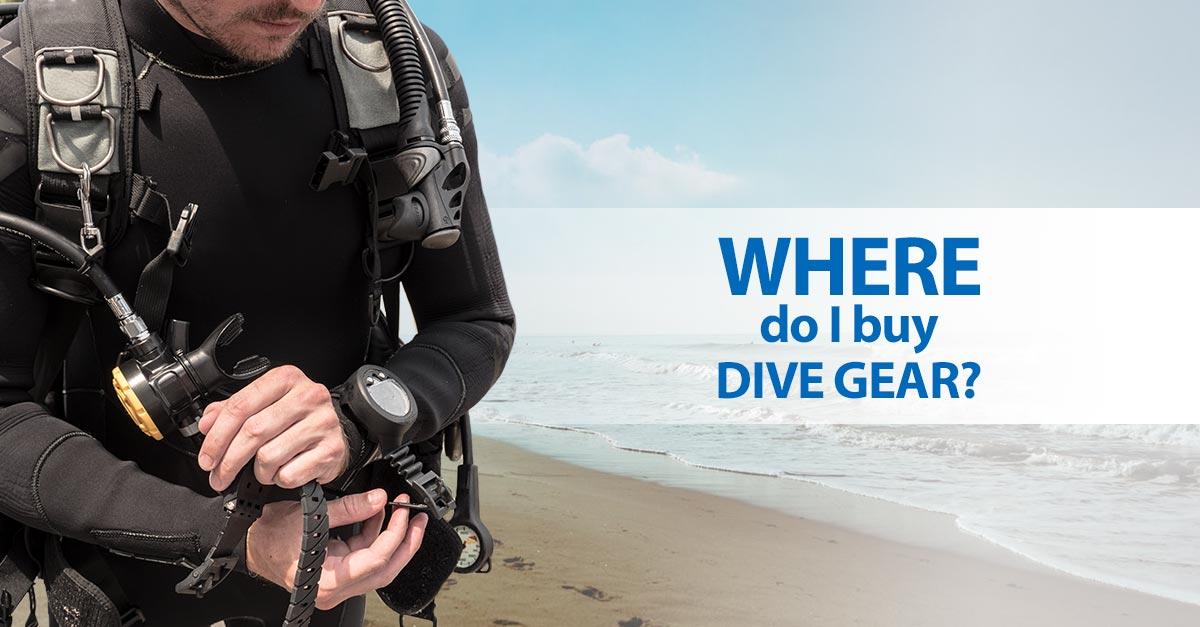 Where do i buy dive gear