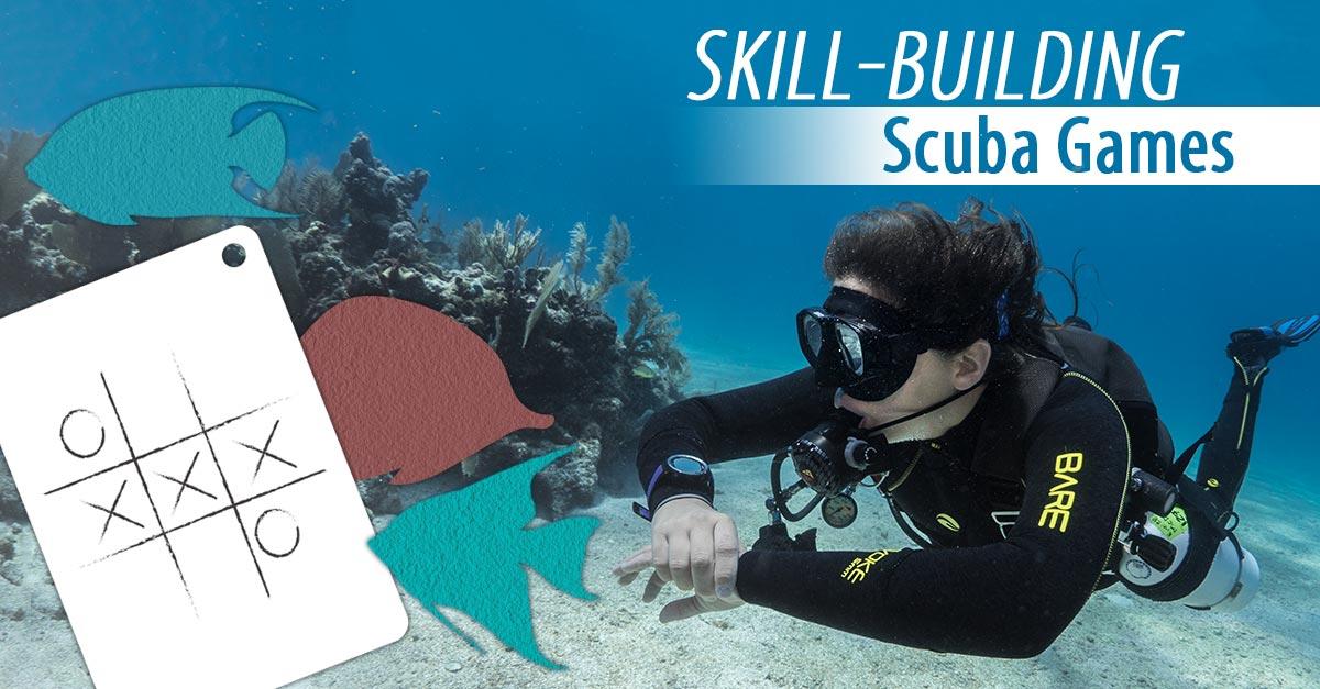 Skill-Building-Scuba-Games