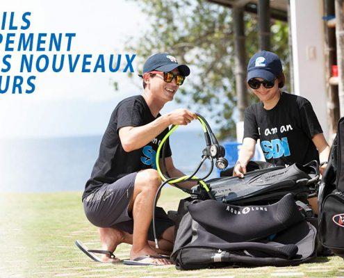 5 CONSEILS D'ÉQUIPEMENT POUR LES NOUVEAUX PLONGEURS