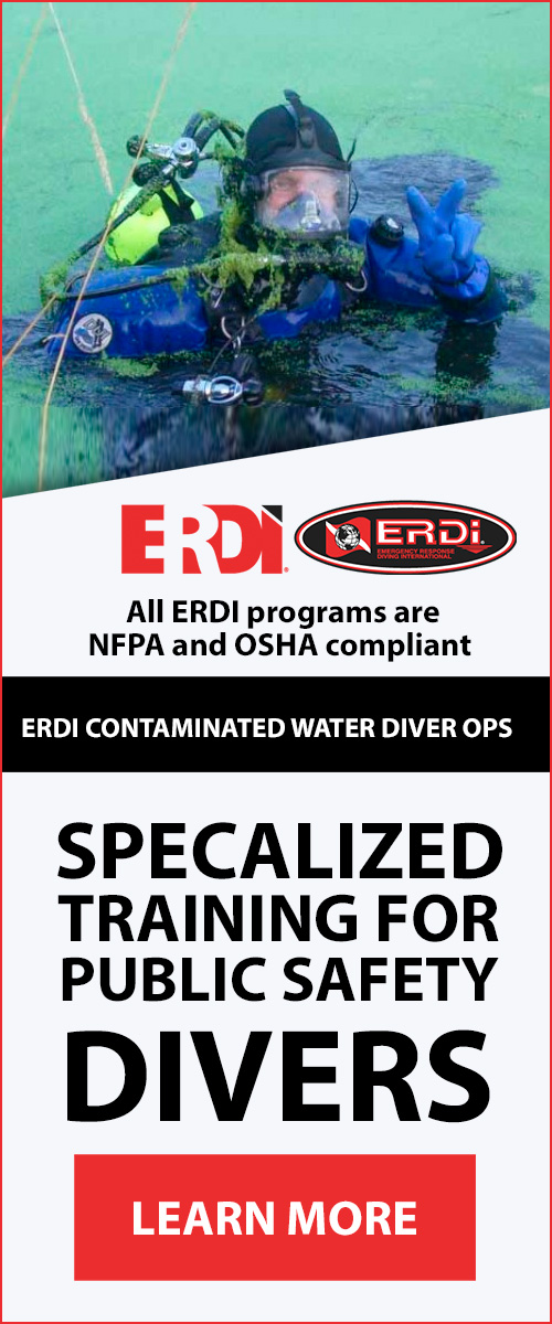 ERDI CONTAMINATED WATER DIVER OPS