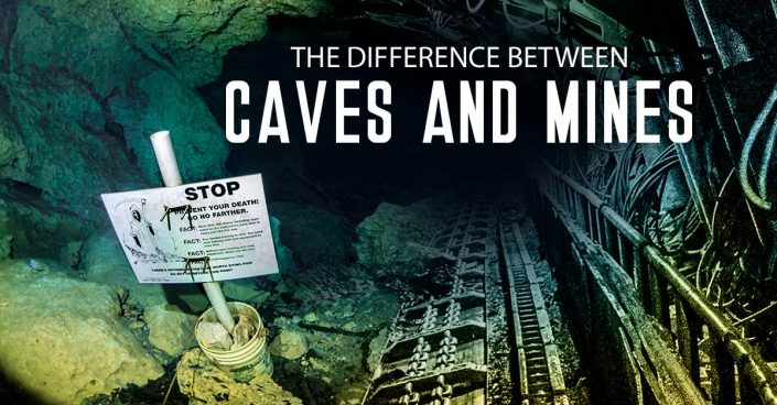 caves vs mines
