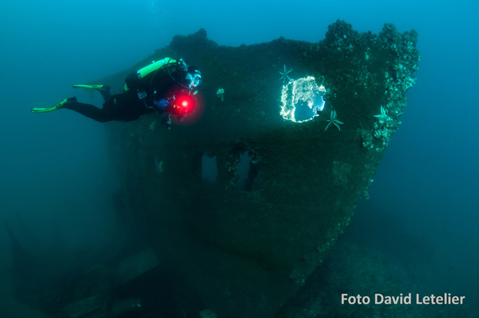 scuba diving boat wreck