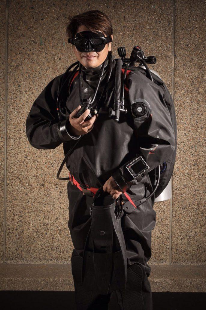 Dan Phutthakhun Prungkananon Full gear diver