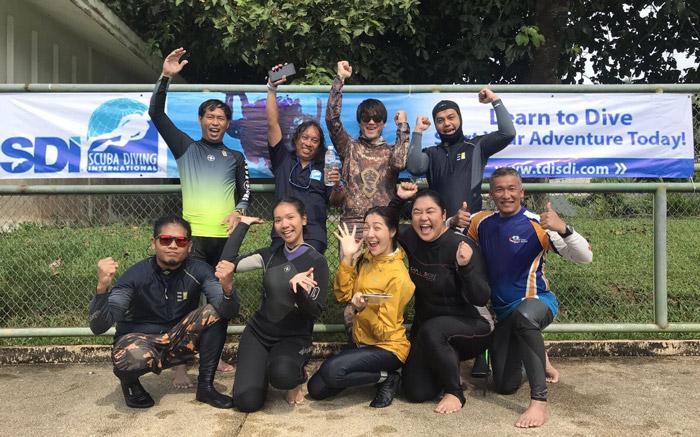 Dan Phutthakhun Prungkananon dive team