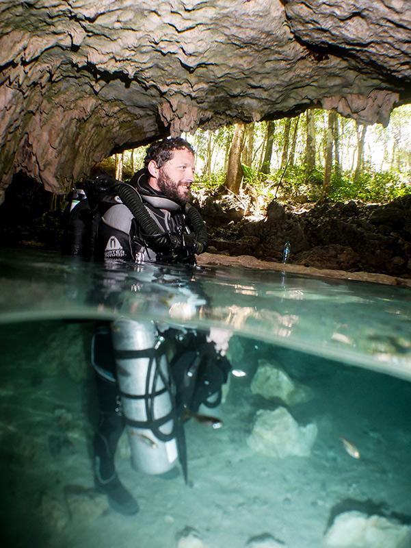 Scott Sanders Cave Diver