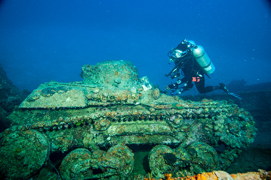 Nippo Maru tank Truk Lagoon
