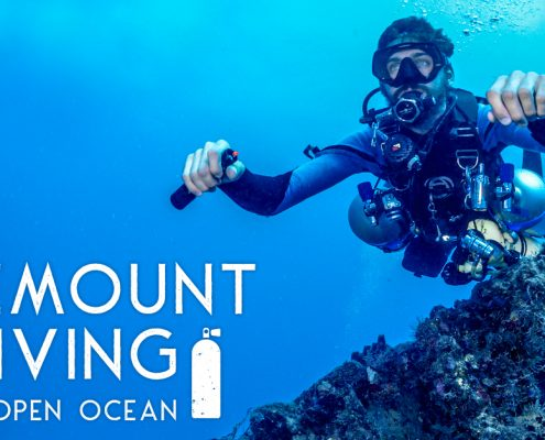 sidemount diving ocean
