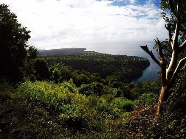 piton summit - saint lucia