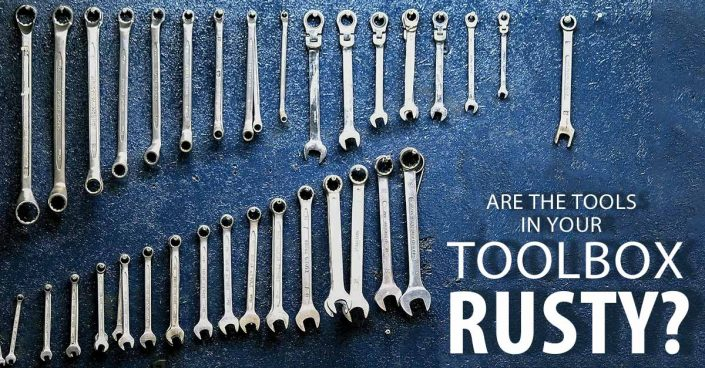 rusty tools